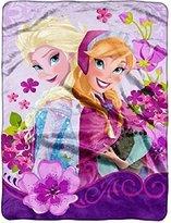 Disney Frozen Celebrate Love Micro Raschel Throw by The Northwest Company, 46 by 60-Inch