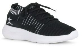 Danskin Energy Lace Up Sneaker with Contrast Trim Women's Shoes