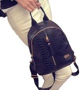 Cakaco_bag Travel Shoulder Bag Cakaco Women Leather Backpacks Schoolbags Travel Shoulder Bag