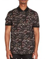 Givenchy Monkey Print Polo