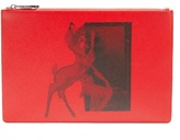 Givenchy Bambi©-print leather pouch