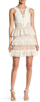 Romeo & Juliet Couture Tiered Lace-Up Dress