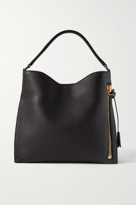 Tom Ford Alix Textured-leather Shoulder Bag - Black