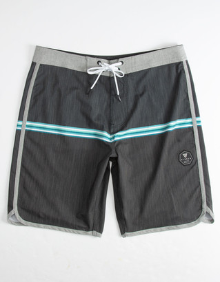 VISSLA Dredges Black Mens Boardshorts
