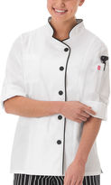 White Swan Womens Long Sleeve Chef Coat