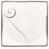Noritake Platinum Wave Square Appetizer Plate