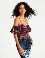 American Eagle Outfitters AE Soft & Sexy Off-the-Shoulder Bodysuit