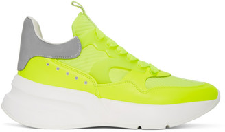 Alexander McQueen Yellow Leather Sneakers