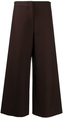 Jil Sander Cropped Flare Trousers