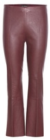 By Malene Birger Phase Flared Leather Trousers