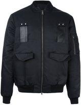 Les Benjamins pocketed bomber jacket