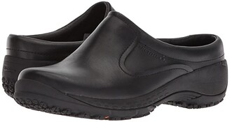 Merrell Work Encore Slide Q2 Pro (Black) Women's Slip on Shoes