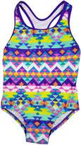 Speedo Big Girls' Solid Infinity Splice One Piece Swimsuit