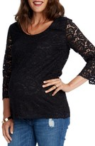 Women's Rosie Pope Becca Lace Maternity Top