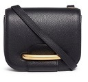 Mulberry 'Small Selwood' metal tab leather crossbody bag