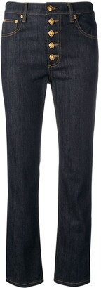 Tory Burch multi button jeans
