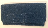 The Well Appointed House Dark Blue Hand Beaded Evening Bag Clutch - IN STOCK IN OUR GREENWICH STORE FOR QUICK SHIPPING