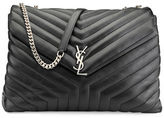 Saint Laurent Monogram Y-Quilted XL Slouchy Chain Shoulder Bag
