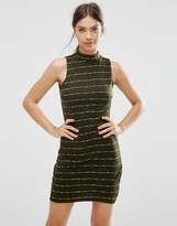 Daisy Street Dress In Stripe