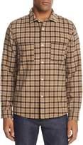 A.P.C. Riga Superchemise Flannel Button-Down Shirt