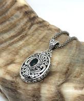 Sevil 925 Women's Necklaces - Mystic Topaz & Sterling Silver Oval Pendant Necklace