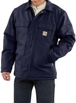Carhartt Flame Resistant Duck Traditional Coat - Quilt-Lined (For Big and Tall Men)