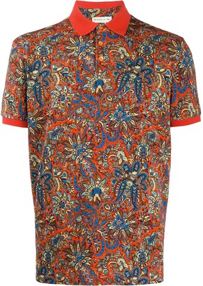 Etro Bohemian Print Polo Shirt