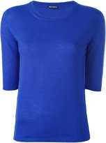 Iris von Arnim cashmere round neck top