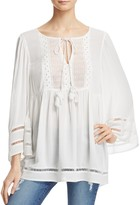 French Connection Ava Peasant Top
