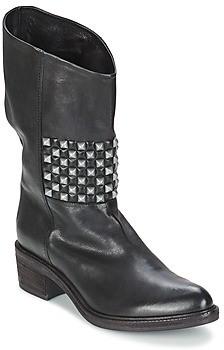 VIC COPENHAGEN women's Mid Boots in Black