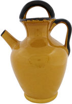 One Kings Lane Vintage French Glazed Stoneware Water Pitcher