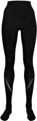 Wolford Avery crystal embellished tights