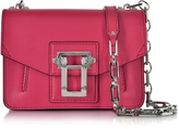 Proenza Schouler Hava Chain Magenta Leather Crossbody