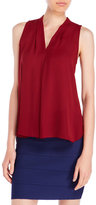 Vince Camuto Sleeveless Center Pleat Blouse