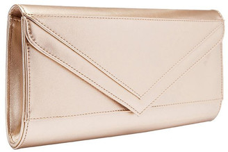 Sandler SANDLER Paige Gold Clutch Bag