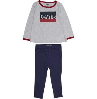 Levi's Baby Girls Core Logo Leggings Set Multi