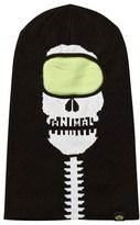 Animal Black Glow in the Dark Skull Balaclava