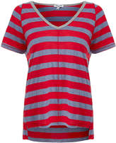Splendid Red Bridgewater Stripe T-Shirt
