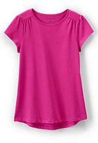 Classic Girls Core Tee-Pink Sequin Stripe