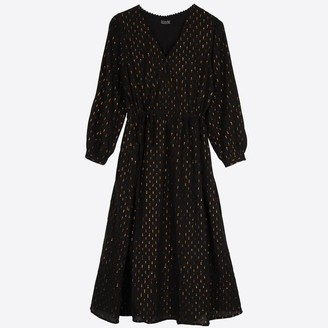 Lowie Black Gold Veronica Dress - S