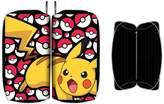Bioworld Pokmon Pikachu Yellow & Red Zip Around Junior Wallet