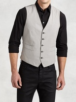 John Varvatos Cotton Vest