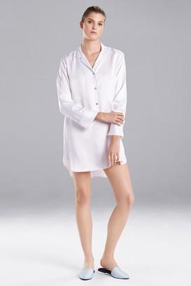 Natori Feathers Satin Essentials Sleepshirt