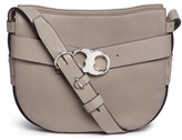 Tory Burch 'Gemini' small belted leather hobo bag