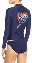 Tory Burch Parrot Surf Shirt, Tory Navy
