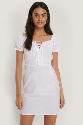 Trendyol Detailed Poplin Mini Dress