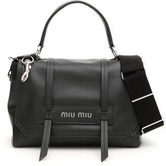 Miu Miu Logo Bag With Top Handle