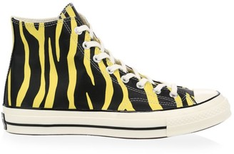 Converse Leather Archive Prints Chuck 70 High Top Sneakers