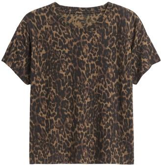 Banana Republic SUPIMA Cotton Boxy Cropped T-Shirt