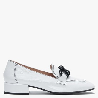 Wonders Mohawk White Patent Leather Loafers